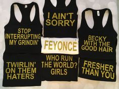 Hey, I found this really awesome Etsy listing at https://www.etsy.com/listing/475305137/beyonce-bachelorette-beyonce-tank