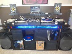 Are you looking for DJ equipment meant for sale that you want to purchase? Home Studio, Dj Equipment For Sale, Dj Kit, Cool Things To Make, Things To Come, Technics Turntables, Dj Setup, Dj Gear, Furniture