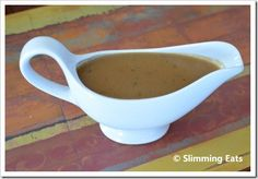 Syn Free Onion Gravy Slimming Eats - Slimming World Recipes Slimming World Tips, Slimming World Dinners, Slimming Eats, Slimming Recipes, Skinny Recipes, Slimming World Gravy, Syn Free Gravy, Slimmers World Recipes, Syn Free Food