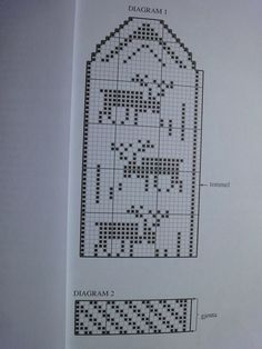 DAME VOTT ,,,,diagram 2 er innsiden av votten