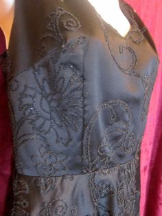 Beautiful Beaded Retro Dress by BrooklynBoudoir on Etsy