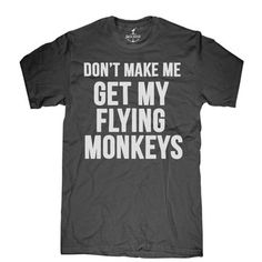 Flying Monkeys Tee Shirt for Men.@janinedorr