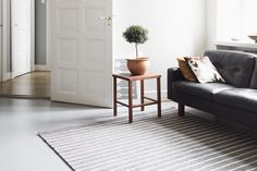 Stylish Haltia in a Finnish living room. Design Tiia Eronen