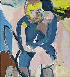 2014 : Sarah Awad - Oil on canvas, 42 x 38 inches