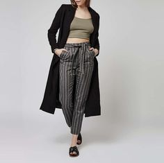 Discover the latest in women's fashion and new season trends at Topshop. Shop must-have dresses, coats, shoes and more. Peg Trousers, Harem Pants, Monochrome, Asos, Topshop, Leggings, Grey, Fitness, Model