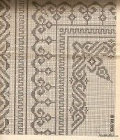 Learn to Crochet – Crochet Wave Fan Edging. How I made this wave fan edging border stitch. Cross Stitch Borders, Crochet Borders, Cross Stitch Charts, Filet Crochet, Cross Stitching, Cross Stitch Embroidery, Embroidery Patterns, Cross Stitch Patterns, Knitting Patterns