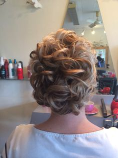 Bridesmaid hair