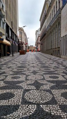 A calçada da Monsenhor Celso