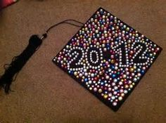 Graduation cap decorating