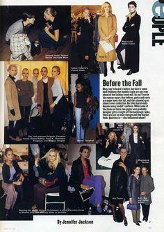 Dans mes archives : boots + slim pants (Harper's Bazaar 1996) Scan : l'armoire essentielle