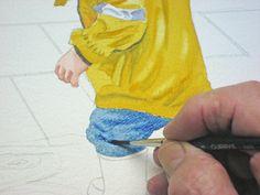 """Puddles"" A Watercolour Demo Art Tutorials Watercolor, Painting Tutorial, Art Lessons, Art Painting, Art Blog, Art, Watercolor Lessons, Pictures To Paint"