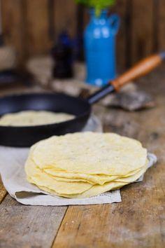 Enchiladas & Tortilla Grundrezept | Das Knusperstübchen