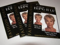 Fashion Forms Original Bring It Up Instant Face Lift 18 Pairs Each Brows & Neck