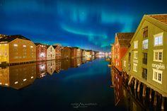 Crazy Night, Trondheim, 2 In, Aurora, Travel Photography, That Look, Facebook, Landscape, Check