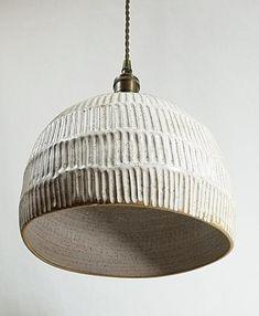 Ceramic Light, Ceramic Lamps, Basket Lighting, Metal Canopy, Hanging Pendants, Pendant Lamp, Pendant Lighting, Lamp Design, Light Shades