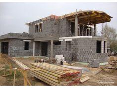 2 Storey House Design, Duplex Design, Dream Homes, My Dream Home, Bungalow Haus Design, Style At Home, Facades, Planer, Modern