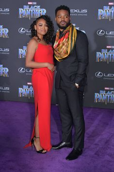 Christian Louboutin OFF!>> Ryan Coogler in a Ikiré Jones suit and scarf and Christian Louboutin shoes. Black Panther Marvel, Black Panther 2018, Black Love, My Black Is Beautiful, Beautiful People, Beautiful Family, Absolutely Gorgeous, Christian Louboutin Red Bottoms, Dc Movies
