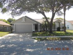 649 Sandpiper Circle Melbourne, FL. Updated pool home. Kitchen features granite counters, deep SS sink and new SS appliances. The open floor plan is light/bright with cathedral ceilings. Split floor plan, inside laundry; washer and dryer included. The exterior has also received the same loving attention with fresh paint and landscaping. New air conditioning 2012. Over sized trussed porch 22 x 11. Stunning pool with waterfall. Contact Karen Biamonte 321-775-8092 or k_biamonte@bellsouth.net