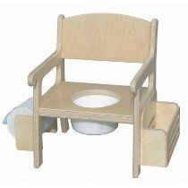 Item x x Shown in natural Made of resilient Baltic Birch plywood and easy to clean, our potty trainer is a traditional style tha. Potty Seat, Potty Chair, Raw Wood, Solid Wood, Potty Training Chairs, Kids Furniture, Outdoor Furniture, Potty Trainer, Baltic Birch Plywood