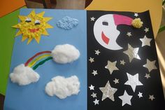 day and night craft (2)  |   Crafts and Worksheets for Preschool,Toddler and Kindergarten