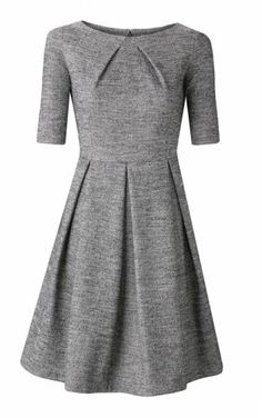 Komodo herringbone tweed dress, ideal for work but can be dressed up too. #fashiontakesaction #fairtrade