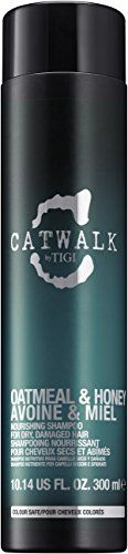 TIGI Catwalk Oatmeal and Honey Nourishing Shampoo for Unisex 1014 Ounce >>> See this great product.(This is an Amazon affiliate link and I receive a commission for the sales)