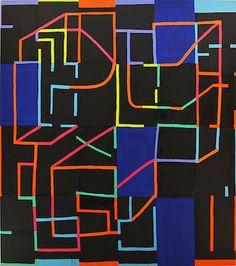 Dark Matter: Jason Karolak's Wayward Abstractions