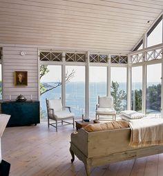 beach home in the swedish archipelago | inspiring interiors