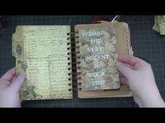▶ Small Envelope Vintage Junk Journal! - YouTube