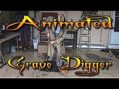 Animated Grave Digger~check this out, the movement on this is spectacular! HF member build & tut.