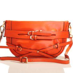 """Ollie & Eve - Ollie """"Papyrus"""" Orange - $299.00    www.dollface.com.au/eboutique/ Eve, Shoulder Bags, Satchel, Handbags, Jewels, Orange, Shoes, Totes, Zapatos"""
