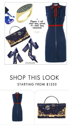 """Anastazio-chic"" by anastazio-kotsopoulos ❤ liked on Polyvore featuring Gucci, Valentino and Anastazio"