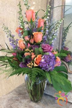 Lavender and Lace Bouquet – Local Delivery Only Bouquet de Lavanda e Renda – Somente Entrega Local Altar Flowers, Church Flowers, Funeral Flowers, Silk Flowers, Spring Flowers, Flowers Garden, Tropical Flowers, Fresh Flowers, Funeral Bouquet