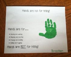 Hh week projects using HANDS!