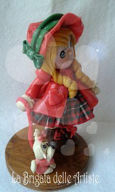 bamboline in porcellana fedda , pasta di mais , porcelana fria