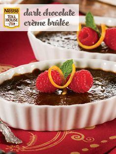 Dark Chocolate Crème Brûlée