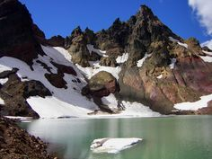 Broken Top Lake, Three Sisters Wilderness, Oregon
