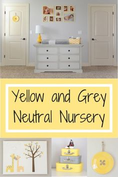 Tour of a Gender-Neutral Yellow and Grey Nursery