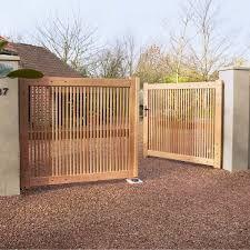 Image result for portail jardin bois