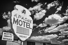Apache Motel - Route 66 Tucumcari - New Mexico - USA