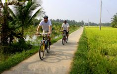 Vietnam biking tours 16 days offer biking tours in Vietnam travelers enjoy biking tours in Hue, Vietnam biking tours in Hoi An, biking tours in Mai Chau,