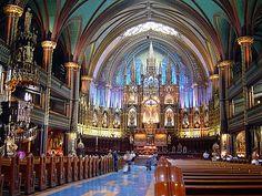 CANADA CANADA Basílica de Nuestra Señora Montreal