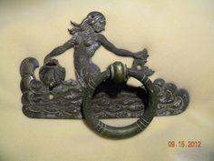 nantucket bronze tiffany door knocker mermaid ocean antique yellen arts crafts | eBay