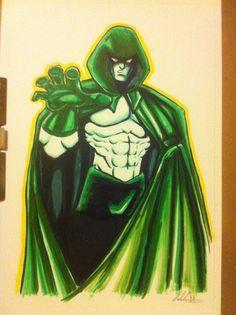 Ian D Walker Art Sales -  11 x 17 full color marker art piece! $SOLD!