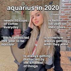 the signs in 2020 part two: aquarius-pisces follow me for more - -  #aries #taurus #gemini #cancer #leo #virgo #libra #scorpio #sagittarius #capricorn #aquarius #pisces #astrologypost #zodiacpost #astrologymemes #zodiacmemes #astrologysigns #zodiac #astrology #zodiacfacts #horoscope #horoscopesigns #horoscopeposts #leoseason #watersigns #firesigns #airsigns #earthsigns #astro Zodiac Posts, Zodiac Memes, Daily Zodiac, Leo Season, Earth Signs, Aquarius, Sagittarius, Astrology Signs, Water Bearer