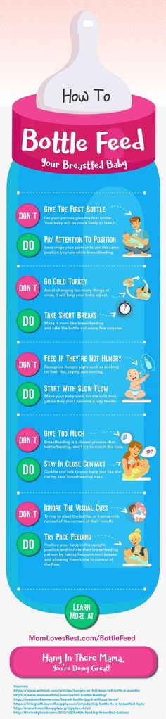 Has your baby only been breastfed so far in his short life? Are you wondering how you'll be able to incorporate bottle feeding once you go back to work? In this post we discuss in-depth strategies to introduce the first bottle to your breastfed baby without a fuss. What you can do if your baby refuses the bottle (or your breast), and which bottles and nipples are best for bottle feeding a breastfed baby. Click here to learn more.