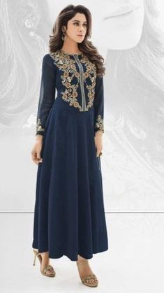 15 Best And Latest Collection Of Embroidered Kurtis In India