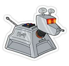 K-9 (Doctor Who) Stickers