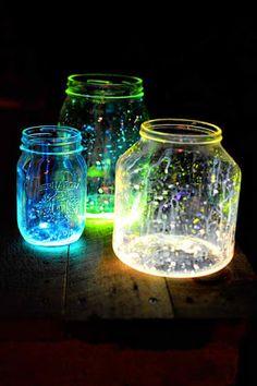 DIY Glow Jars Tutorial