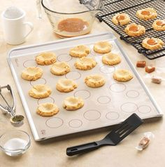 Pampered chef caramel thumbprint cookie recipe